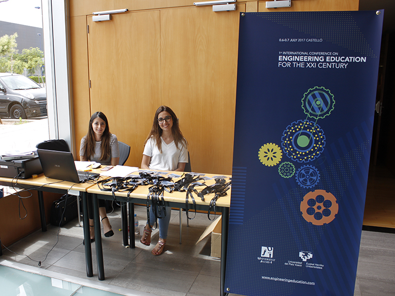 Colaboración 1st international conference on Engineering Education for the 21st century – Castellón – Universitat Jaume I