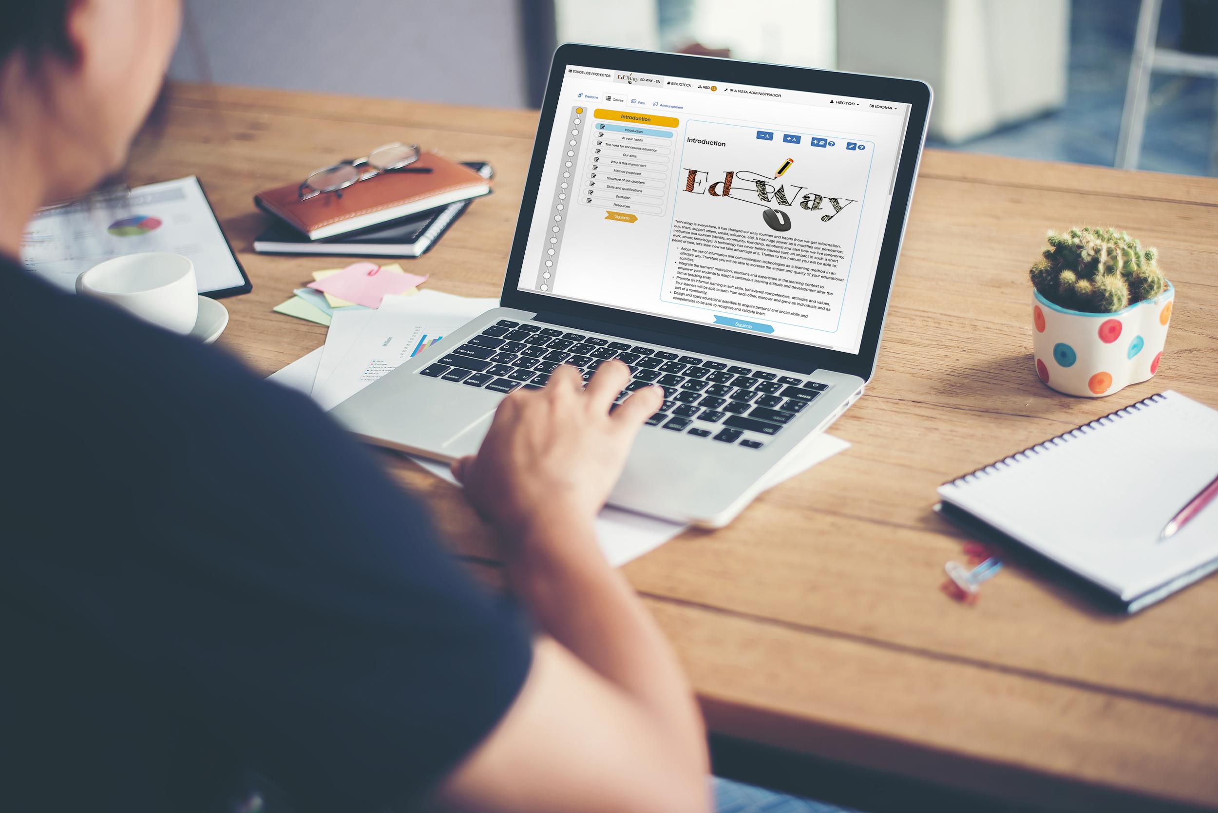 La enseñanza online como sistema para democratizar la educación, nuevas oportunidades y nuevos retos.