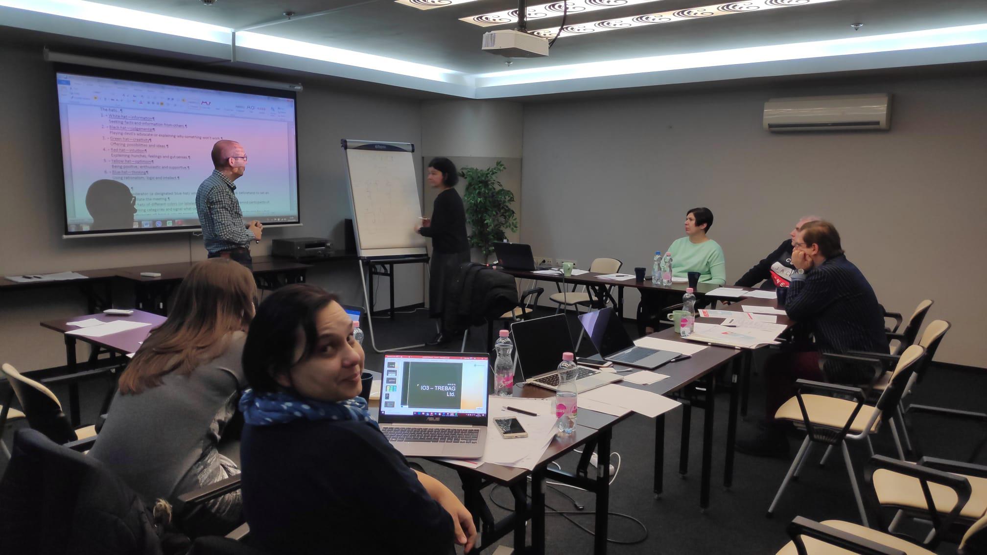 Segunda reunión del proyecto Intra-net en Budapest