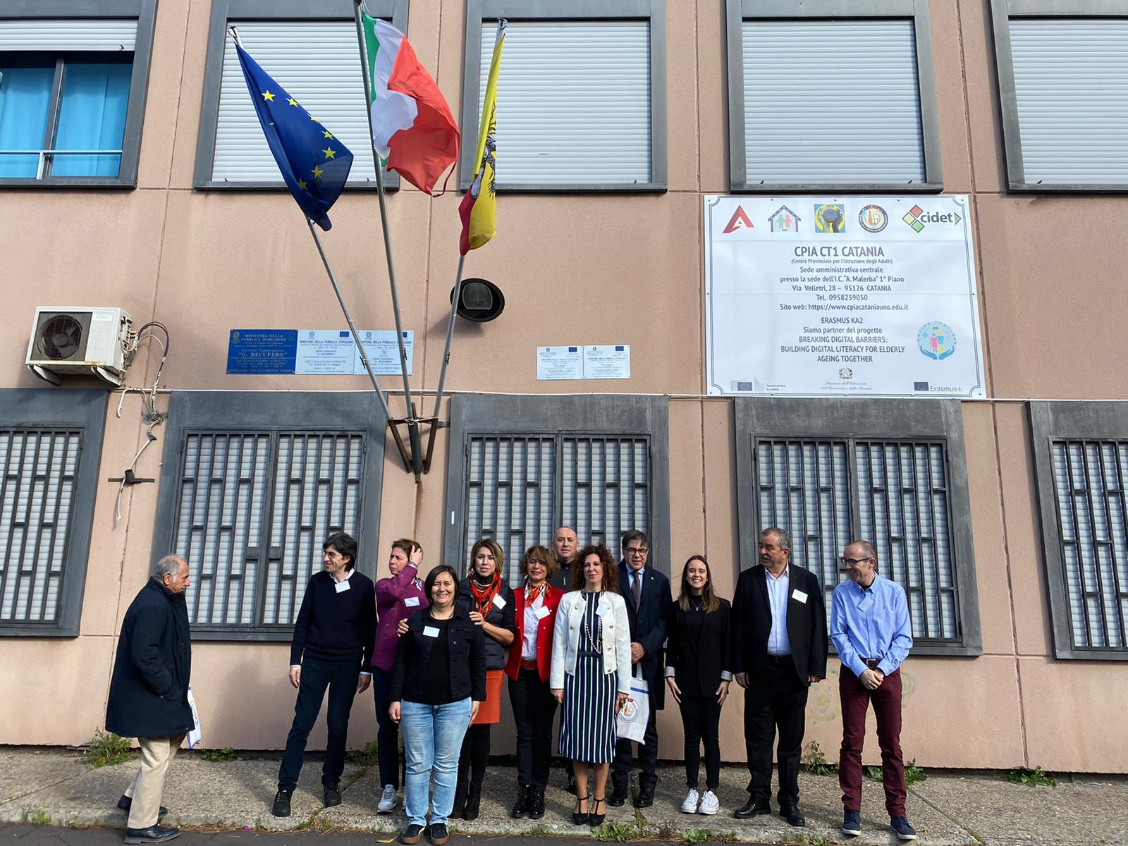 Meeting in Catania about Ageing Together project