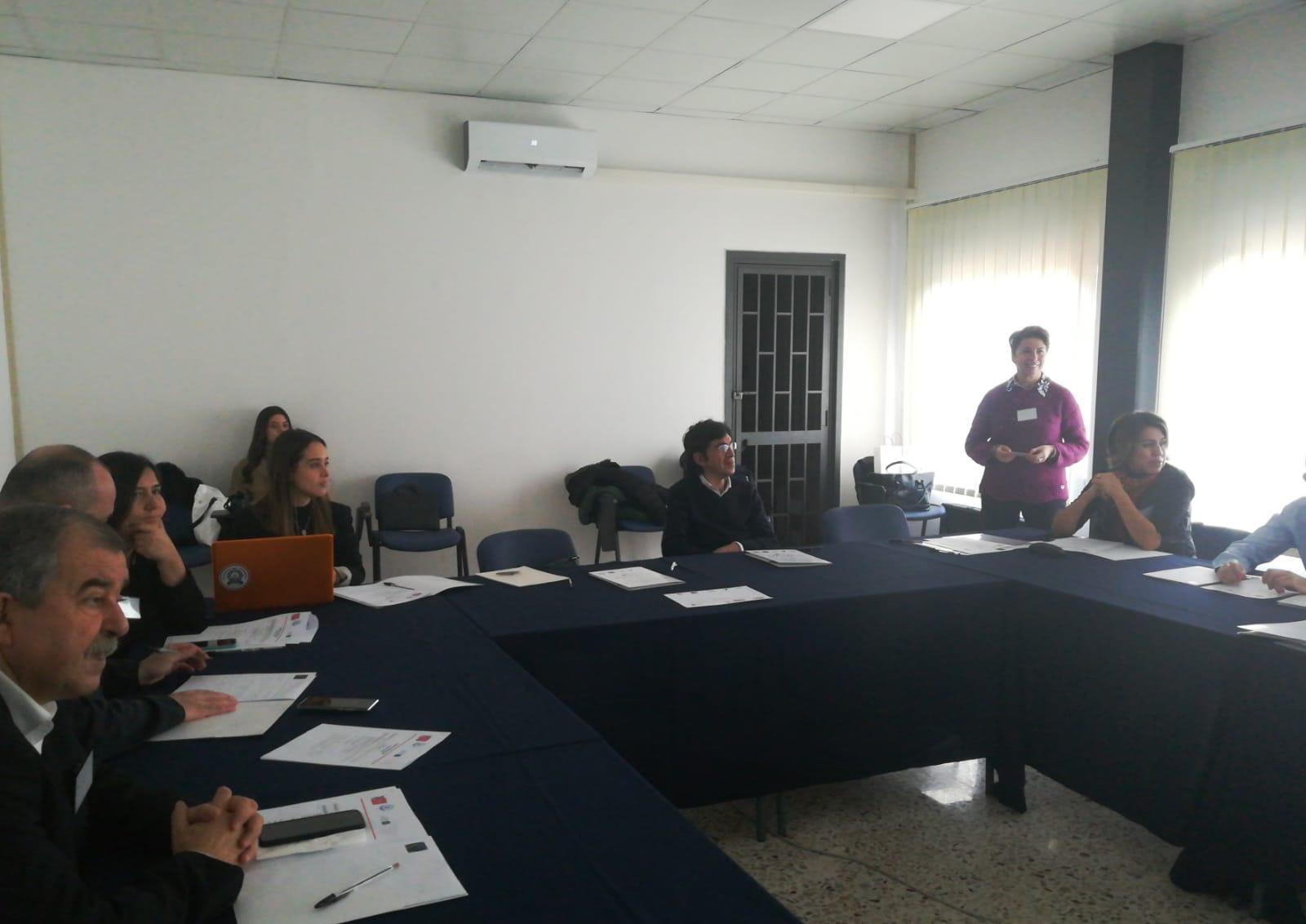 Reunión en Catania por el proyecto Ageing Together