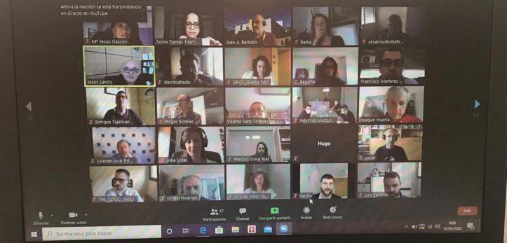 CIDET participa en una reunión virtual con empresas y grupos de investigación UJI promovida por el ESPAITEC