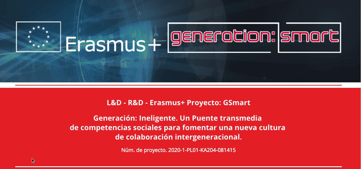 ¡Nuevo proyecto Erasmus+ para adultos! CIDET se una al proyecto GSmart como socio